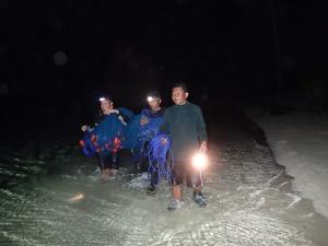 Menjaring Ikan di Malam hari hehehe